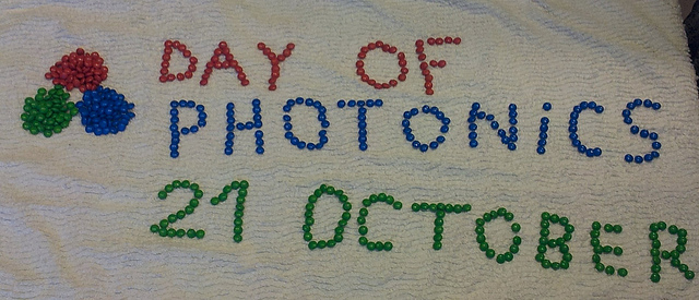 M&M London help celebrate the Day of Photonics on 21 October