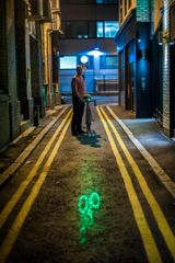 Laser technology makes cycling safer