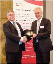 AFE receives EPIC Phoenix Award 2013 recognising entrepreneurship in photonics