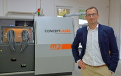 Concept Laser opens new R&D additive manufacturing centre