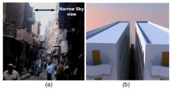 Novel method of re-directing sunlight in urban areas developed