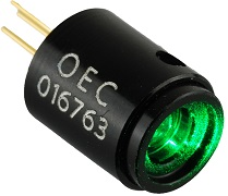 Collimated 520nm green laser diodes